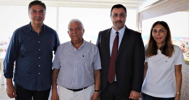 Rektör Kalan'dan Rafet Kayış'a ziyaret