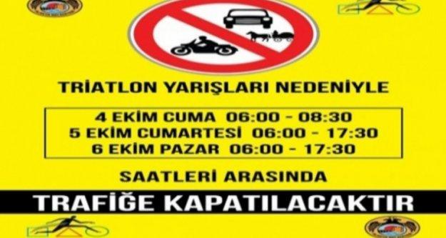 Sürücüler Dikkat! Alanya'da 3 gün bu yollar kapalı
