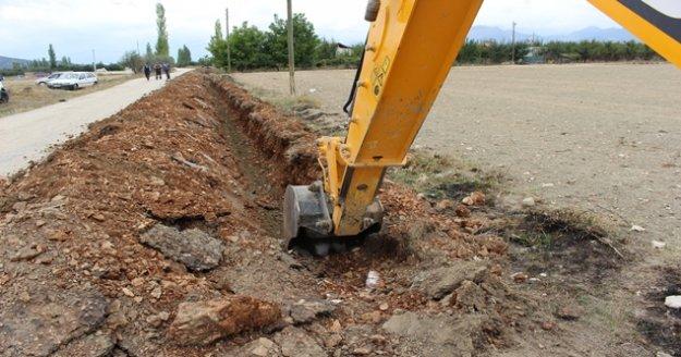 Tekke Mahallesi'ne yeni içme suyu hattı yapıldı