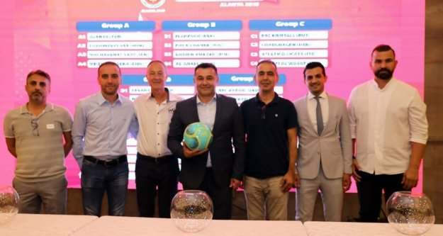 World Winners Cup için Alanya'da kuralar çekildi