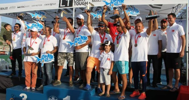2. Alanya Fıshıng Tournament yarışları tamamlandı