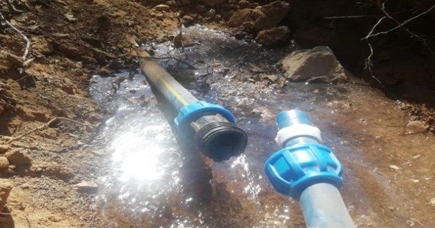Akseki ve Gündoğmuş'ta içme suyu hatları yenileniyor