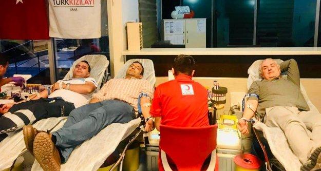 Alanya Anadolu'dan kan bağışına destek
