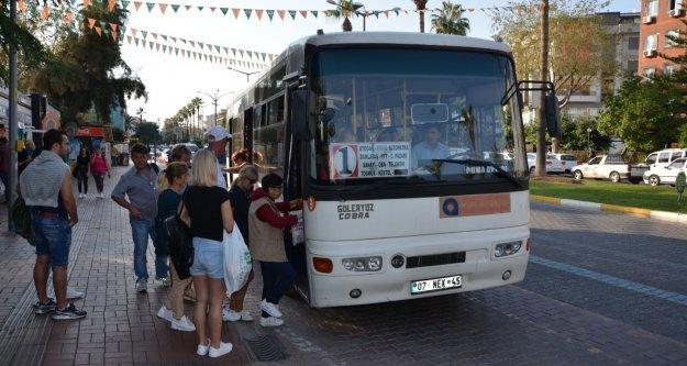 Alanya'da öğrencileri sevindirecek fiyat tarifesi