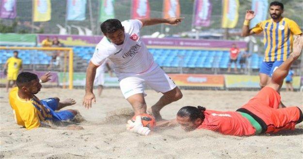 Alanya'da plajda finalin adı belli oldu