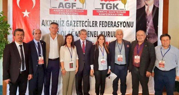 Alanya Gazeteciler Cemiyeti AGF Yönetimi'nde