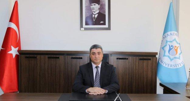 ALKÜ'ye yeni rektör yardımcısı