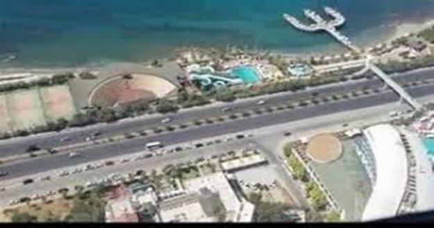 Antalya trafiği havadan helikopter ile denetlendi