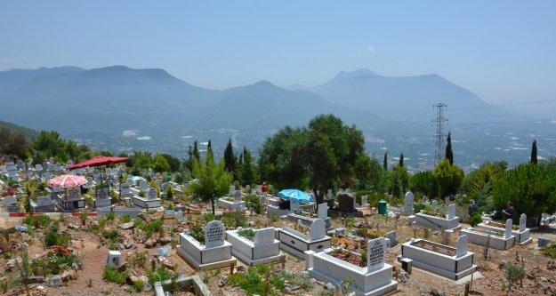 ASAT Alanya'nın o mezarlığının su sorununu çözdü