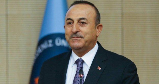 Çavuşoğlu: Burada bir terör devleti kurmak istiyorlardı