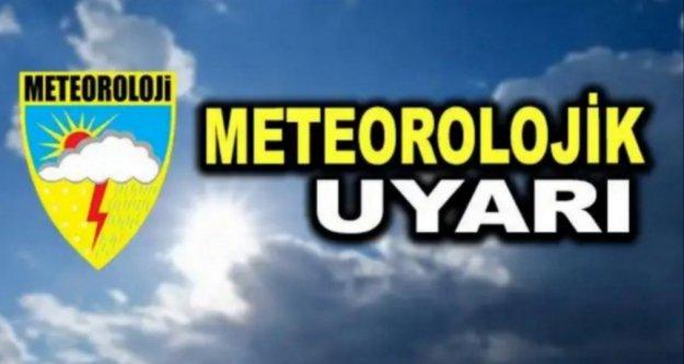 Dikkat! Meteoroloji'den yağmur uyarısı var