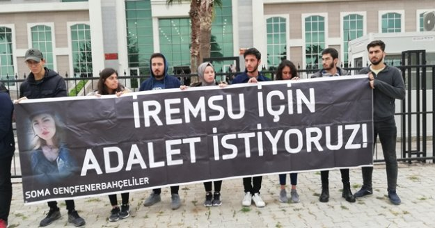 İrem Su için 'Adalet istiyoruz' pankartı açtılar
