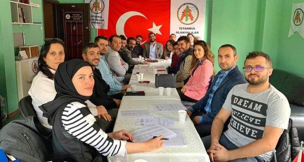 İstanbul Alanyalılar Derneği'nde yeni dönem