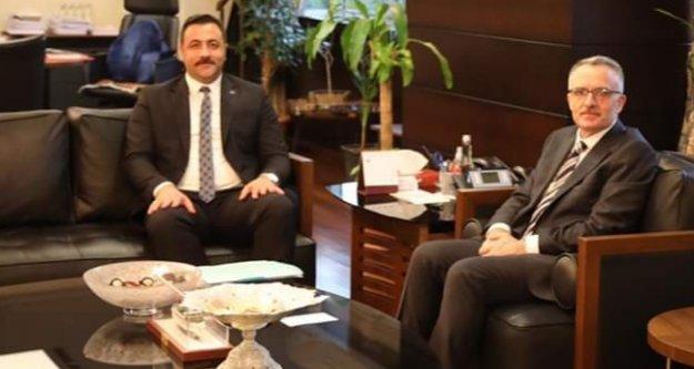 Rektör Kalan, Ağbal'dan bütçe desteği istedi