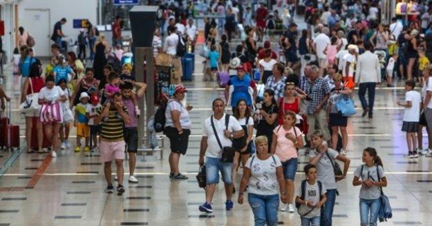 Türkiye ilk 10 ayda yaklaşık 41 milyon yabancı ziyaretçi ağırladı