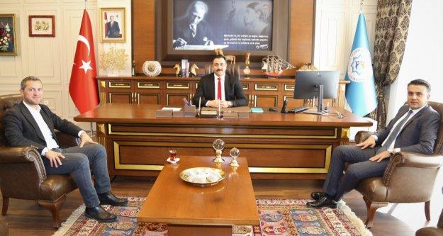 Akdeniz TTO'dan rektör Kalan'a ziyaret