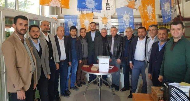 Alanya Ak Parti'de delege seçimleri başladı