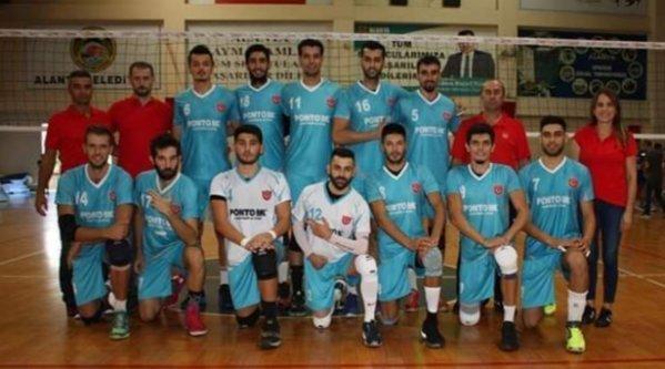 Alanya Belediyespor İstanbul ekibini mağlup etti