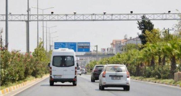 Alanyalı sürücüler dikkat! Kameralardan ceza dönemi başlıyor
