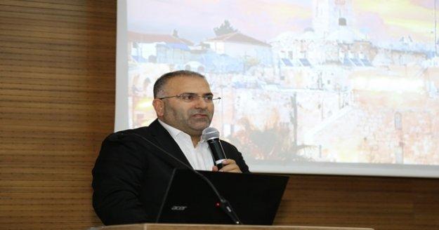 ALKÜ'de insanlığın ortak mirası Kudüs konuşuldu