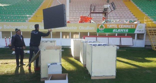 Bahçeşehir Stadı'na led ekran kuruluyor