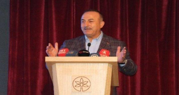 Bakan Çavuşoğlu'ndan Alanya'da Fransa mesajı