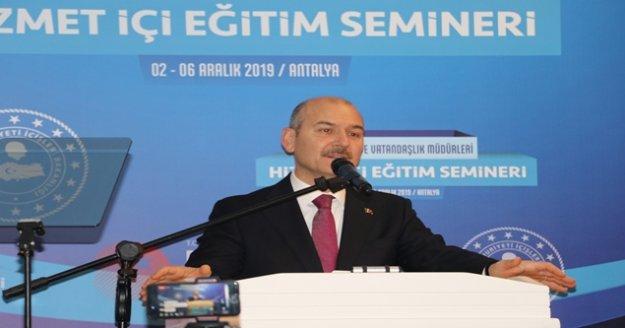 Bakan Soylu: 'Sınır güvenlik sistemleri yaptık'