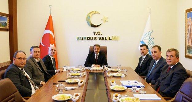 Başkan Bahar 15 OSB'nin  Bölge Koordinatörü oldu