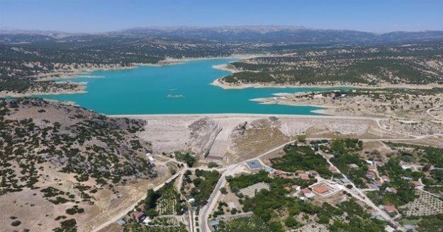 19 baraj ve 3 gölet inşa edildi