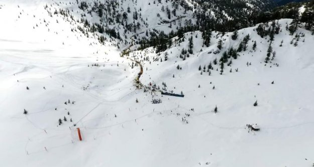 Alanya Belediyesi Akdağ Kayak Merkezi için düğmeye bastı