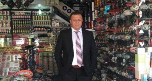 Alanya Pazarcılar Odasında başkan yardımcısı değişti