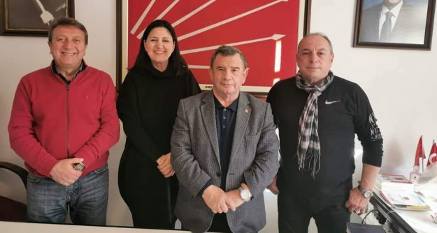 Alanyalı siyasetçi Elazığ depremine yakalandı