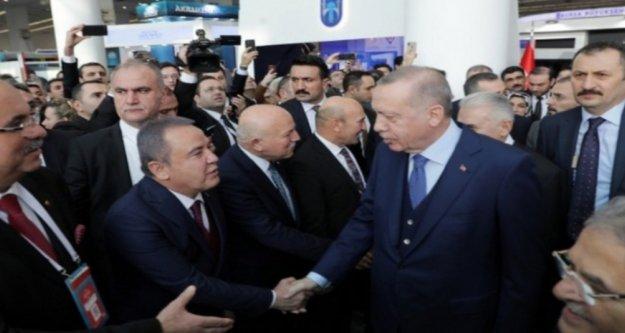 Başkan Böcek'in Ankara temasları