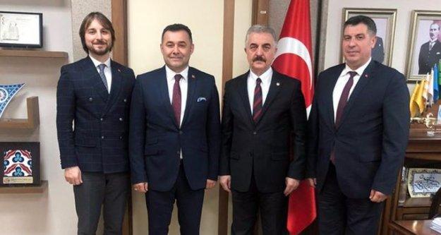 Başkan Yücel'den Ankara'da önemli ziyaretler