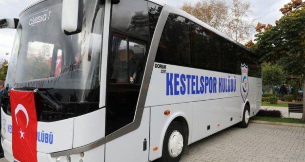 Başkan Yücel'den Kestelspor'a 2020 hediyesi
