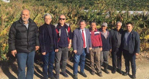 CHP Alanya'da hasar tespiti yaptı