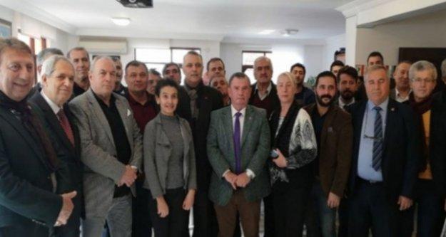 CHP İl Başkan Adayı Bayar, Alanya'ya destek istemeye geldi