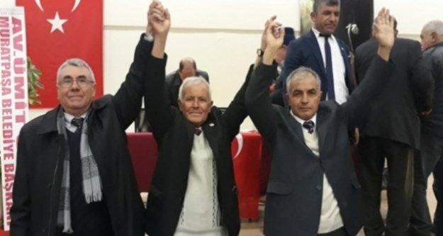 Gündoğmuş CHP'de tüm delegelerin katıldığı seçim sonucu belli oldu