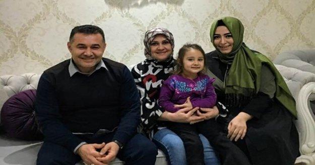 Sena Nur Çelik'ten Yücel ailesine ziyaret