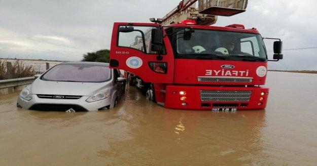 Son 48 saatte metrekareye yüzlerce kilo yağış düştü