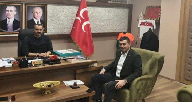 Türkdoğan'dan MHP İl Başkanı Durgun'a ziyaret