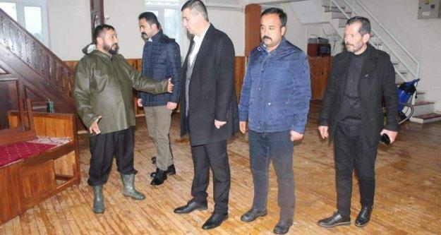 Türkdoğan'dan sel mağdurlarına ziyaret