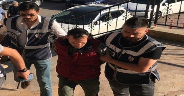 Tutuklu bulunan yüz nakilli Recep Sert, hastaneye kaldırıldı
