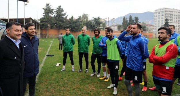 Yücel'den Kestelspor'a kritik maç öncesi moral ziyareti
