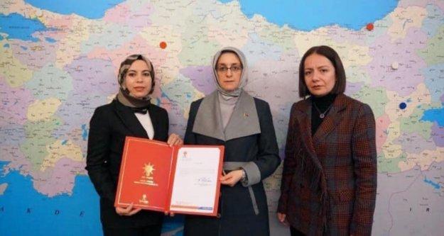 Alanya Ak Parti Kadın Kolları'na yeni başkan atandı