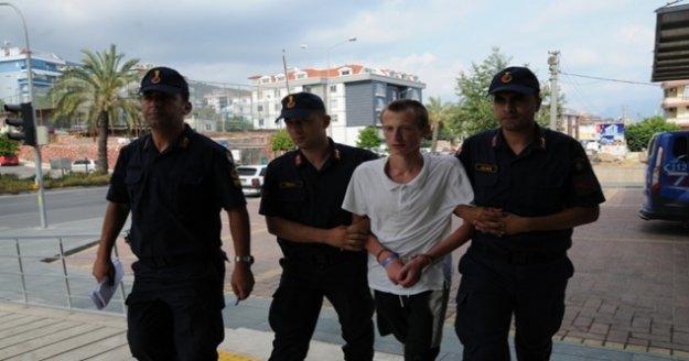 Alanya'da babasını öldüren Ukraynalı gençten kan donduran ifade!