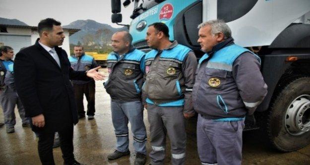 Alanya'da kamyon şoförlerine eğitim