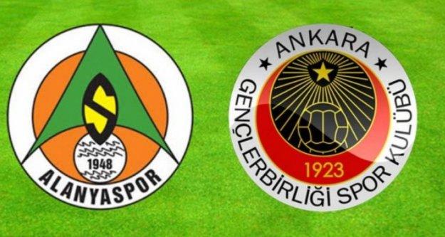 Alanyaspor'dan Gençlerbirliği maçına sürpriz 11