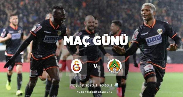 Alanyaspor tur atlamak için Galatasaray karşısına çıkıyor