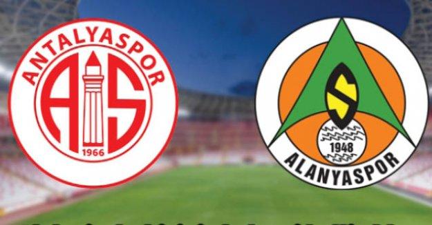 Alanyaspor ve Antalyaspor'dan TFF'ye ortak itiraz